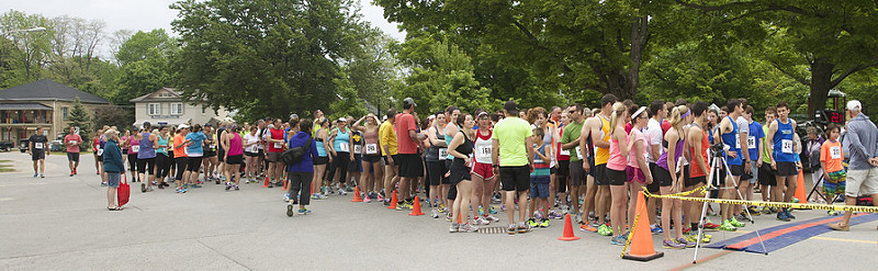 Bayfield was overrun on Sunday morning by participants in the Runners' Choice Runpikers Series. The Safe Harbour Run is an annual fundraiser for the Huron Women's Shelter.