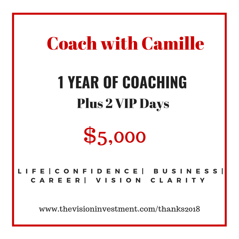 You're worth it. - Purchase 2 six month packages and receive 2 Full-Day VIP Strategy Days!
