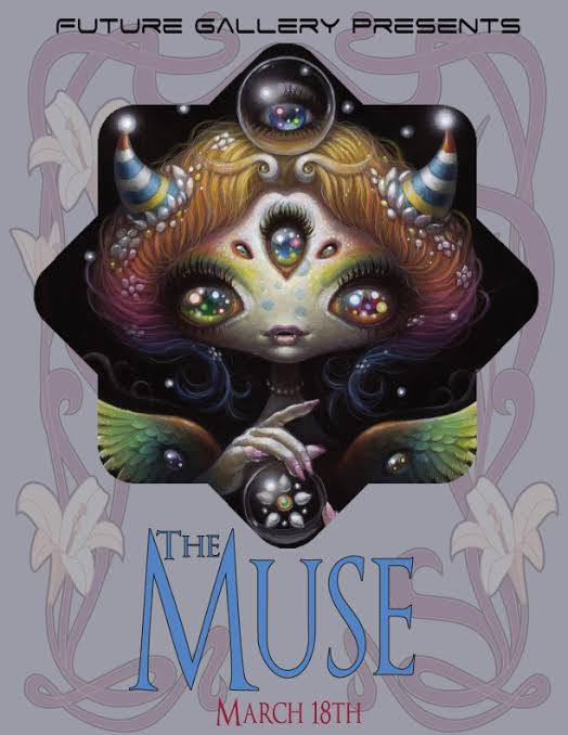 The Muse - Future Gallery PresentsYoko d'Holbachie , Dustin Bailard, Ania Tomicka, Lioba Bruckner, Carolina Seth, Brynn Elizabeth, Aja Trier, David DeRue, Natasha Wescoat, Poquis, Michelle Thibodeau, Meghan Cheshire, Payton Pringle, Dillon Pringle, Misty Bondy, Jonathon Winter, Martina D'Anastasio, and more...Also Featuring Yishu Wang Art Solo showWorks will be available for this show along the website Aug 19th. Preview Inquiries available through our Contact section.Works centering around
