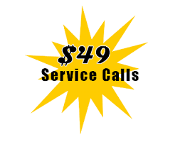 Mention $49 service call in message box below for discount to apply.