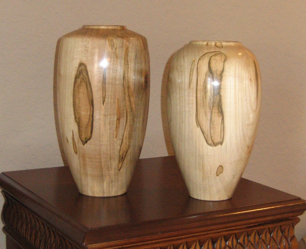 """His and Hers"" vases"