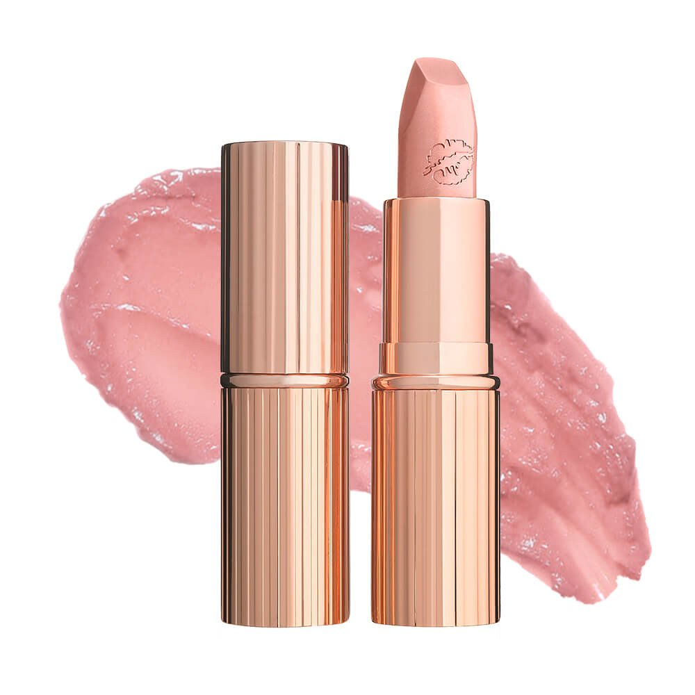 Hot Lips in Kim K W  - Charlotte Tilbury got me again with this amazing nude lipstick, the name alone says it all. The formula, the finish, everything combined makes this the perfect nude. This has been my favorite everyday lip color since I tried it. This and the pillow talk lip cheat is a killer combo.