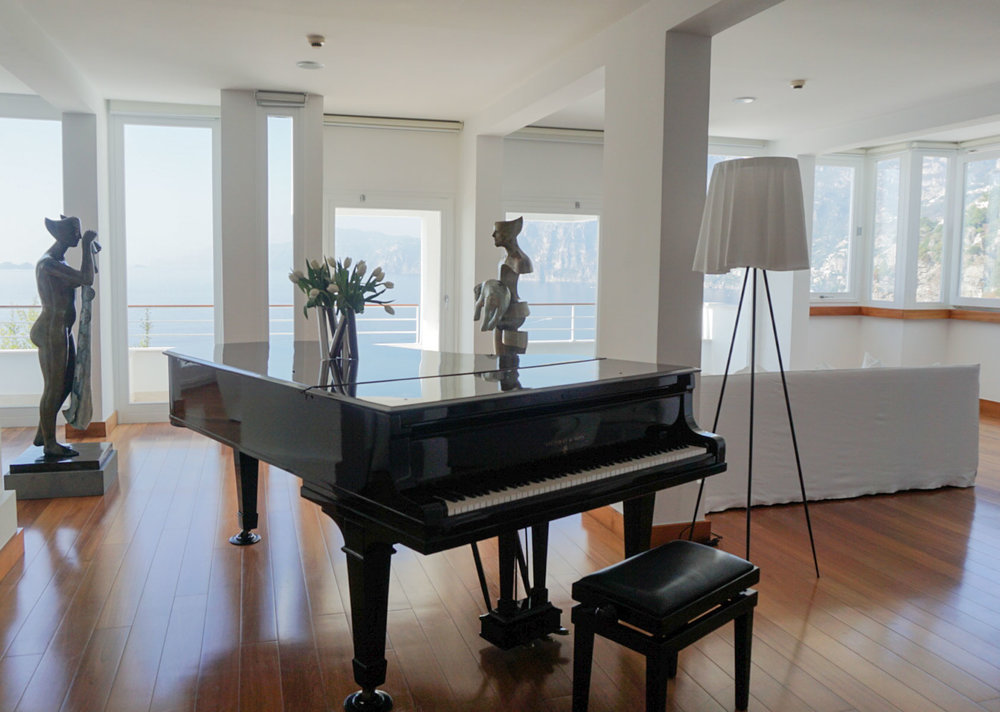 A Room at the Casa Angelino, Positano Italy