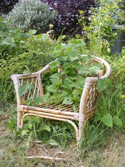 The bean chair Summer 2011