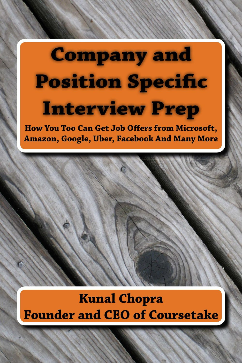 Company and Position Specific Interview Prep
