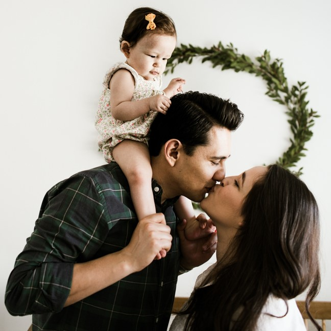 Oscar, Miriam & Leo's In-Home Family Session