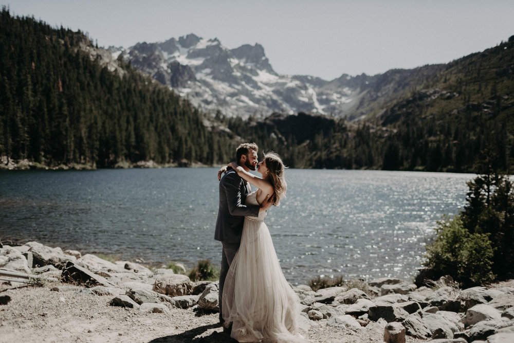 Phill & Trish's Alpine Elopement