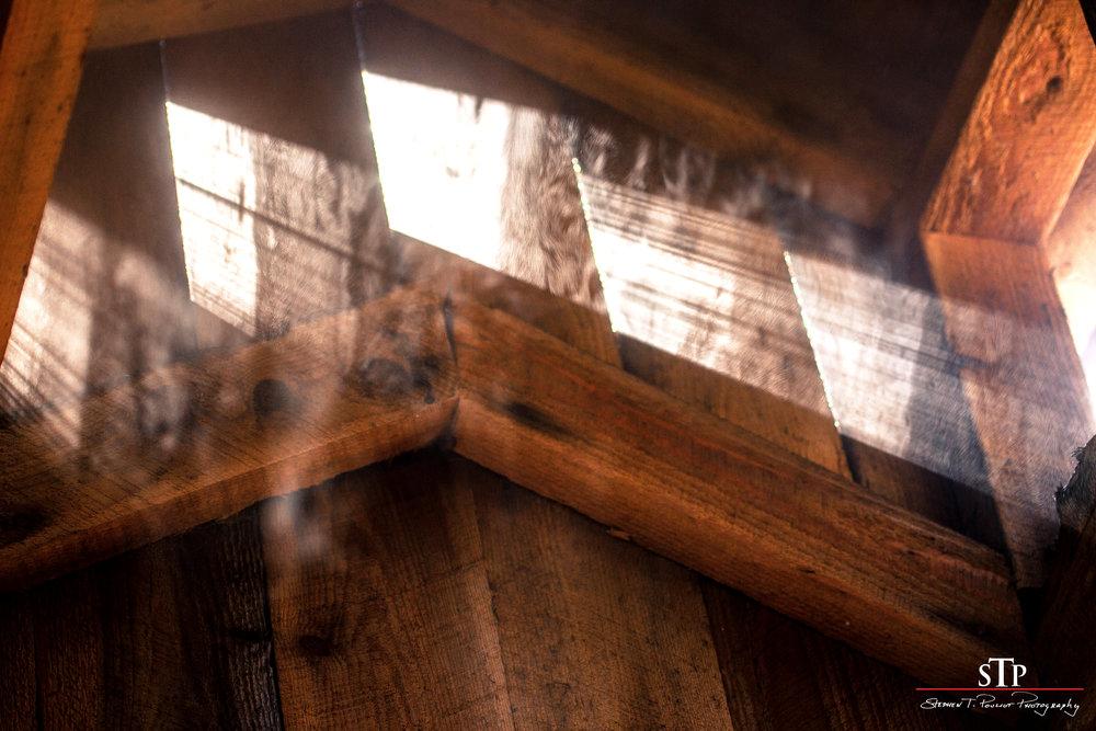 steam in the sap house