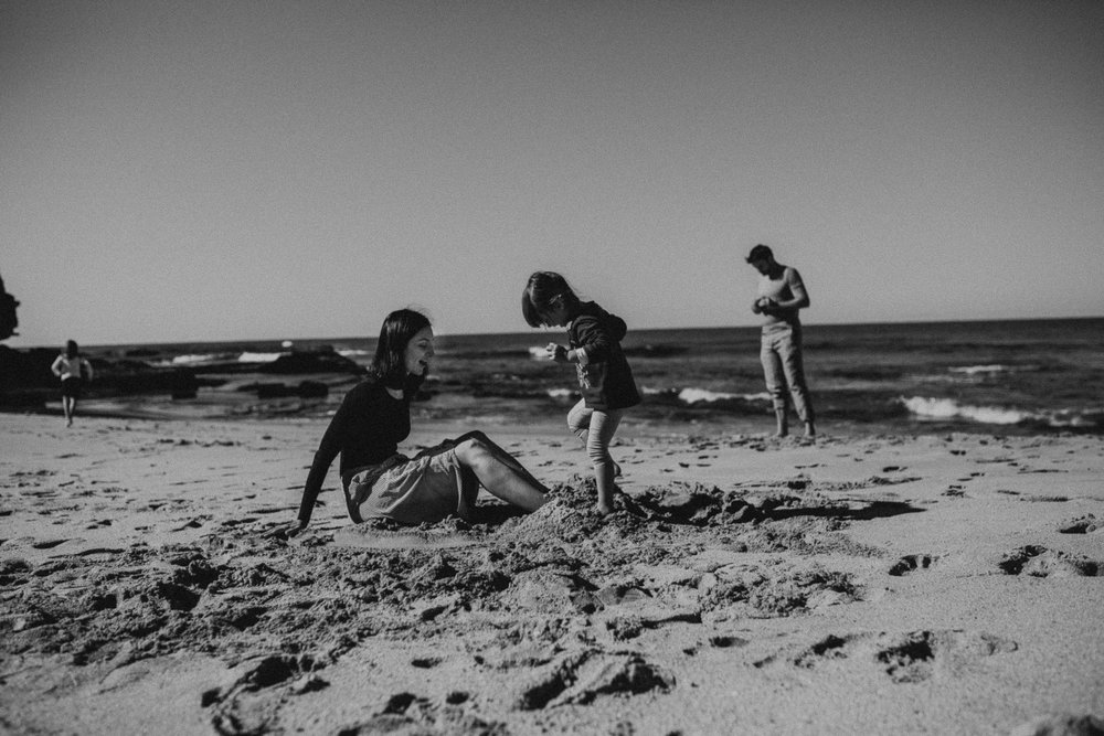 Family Photography | Newport Beach Sand Play