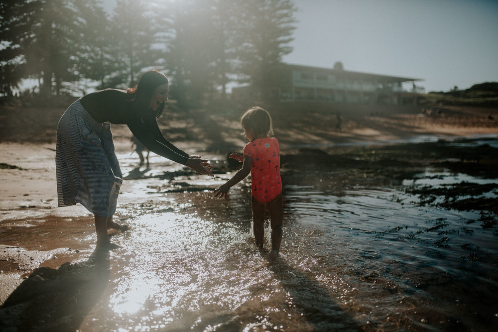 Playing in the sun | Family Photography Sydney