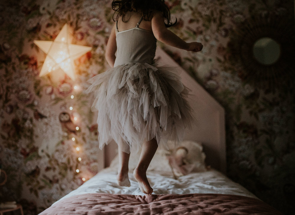 Jumping On The Bed | Family Photography Sydney