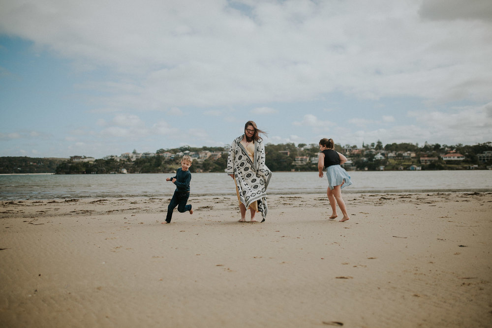 Running Circles | Family Photography Sydney
