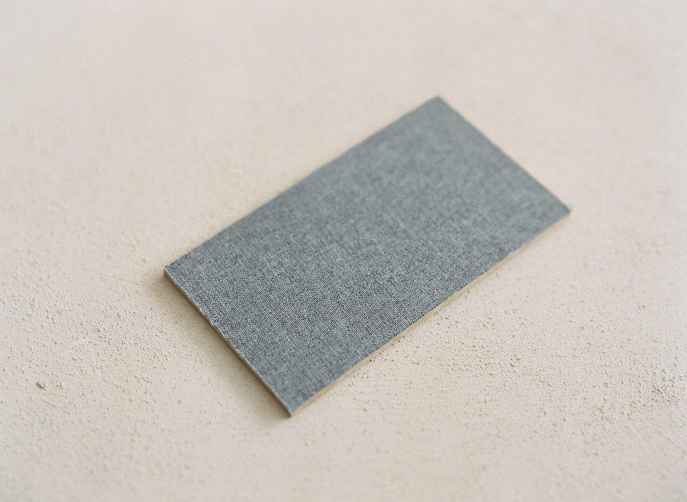 Cool Grey Linen