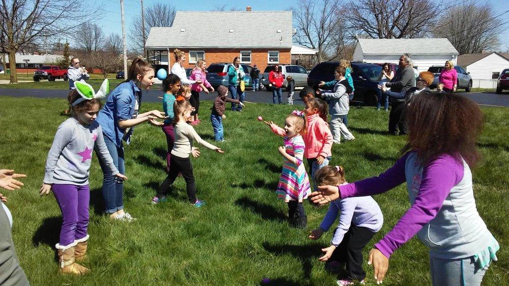 Community Easter Egg Hunt in Kettering, Ohio