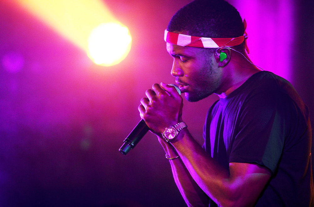 Frank Ocean performs onstage at The Angel Orensanz Foundation on Sept. 24, 2012 in New York City.