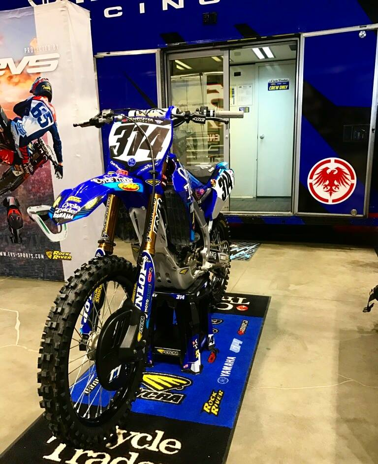The Cycle Trader Rock River team has one of the coolest set-ups around.  Alex's fans will get a chance to see all that the team has to offer at the Salt Lake City round of the series.