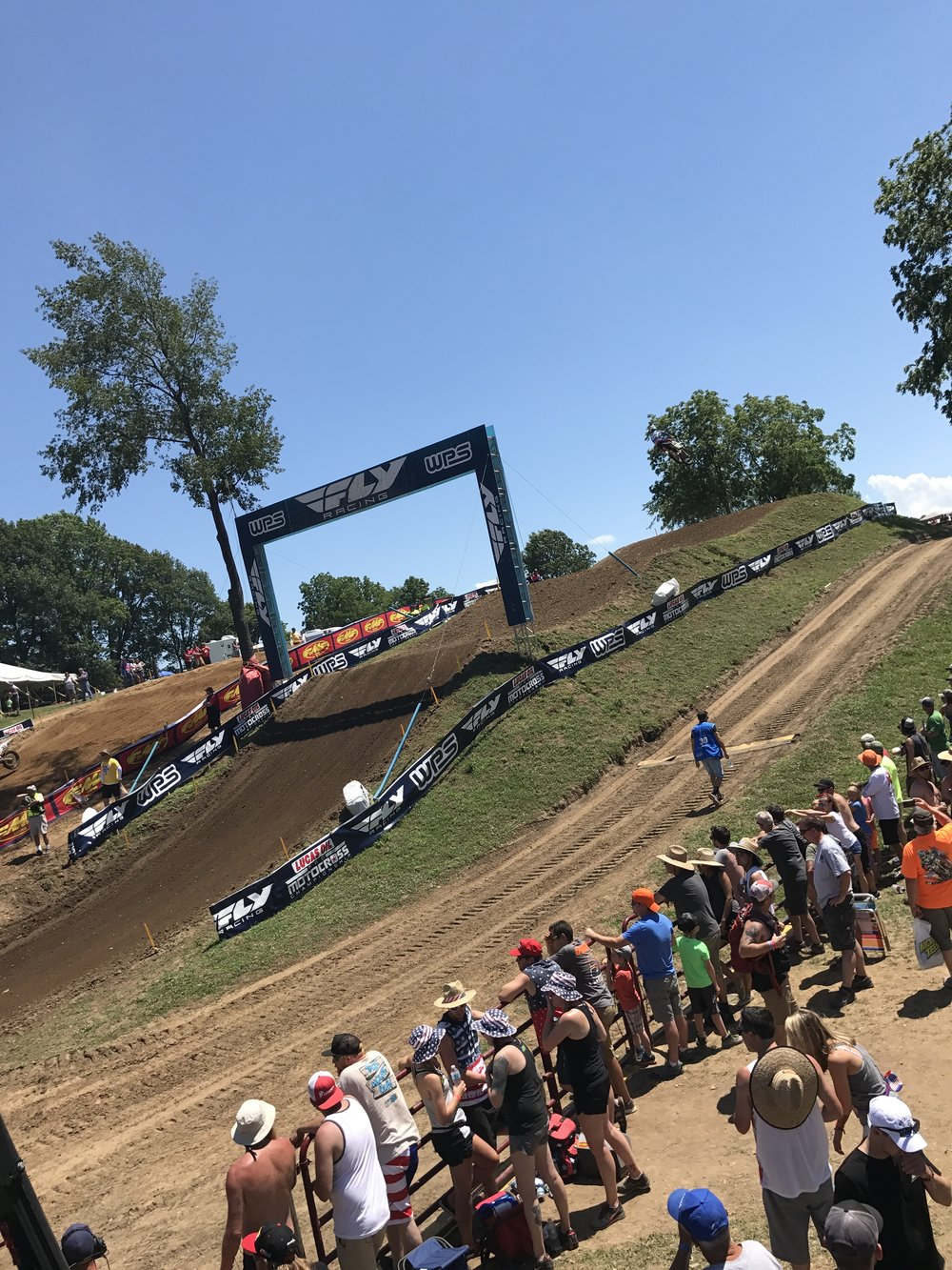 Red Bud MX has some of the most incredible racing action and most beautiful tracks in the world.  Stunning jumps like these are littered all over the course.