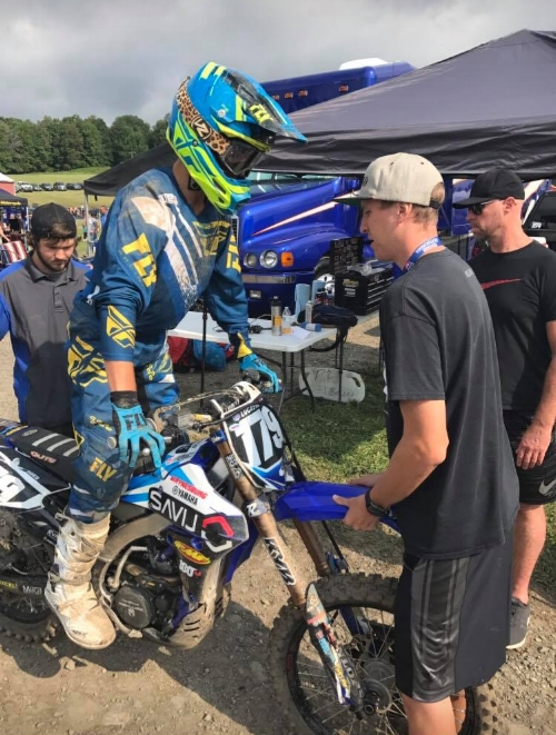 Broc is one of the most hands on team managers around. This is one quality that his team really appreciates and it also gives him another perspective that most mangers don't get to encounter.