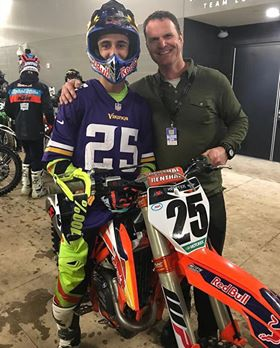 A lot of what Jake does is bring positivity and perspective through scripture.  Many riders utilize his knowledge and teachings to improve their everyday lives.