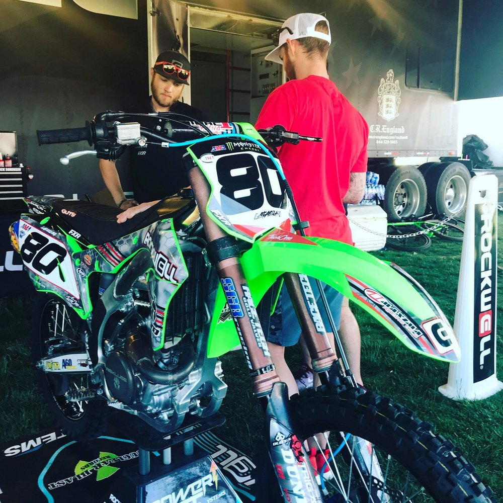 AJ Catanzaro trusts SGB Suspension on his race bikes.  These guys are always there to support the local racers and national Pros.  Imagine what they can do to your ride!