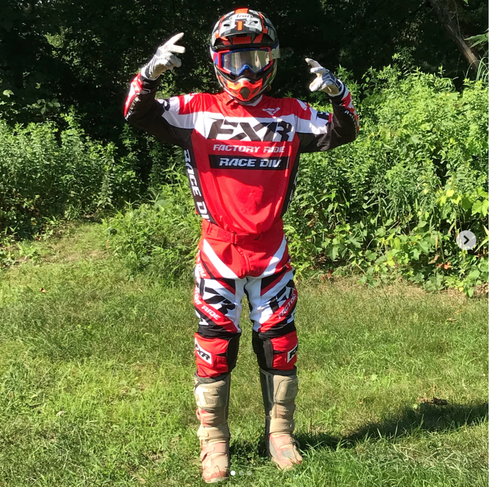 Brandon has opened a lot of eyes this year including some big wigs at FXR Racing.  Brandon scored himself a sweet set up and sponsorship with the FXR Racing team.  Now he'll be stylin' like the best of them.