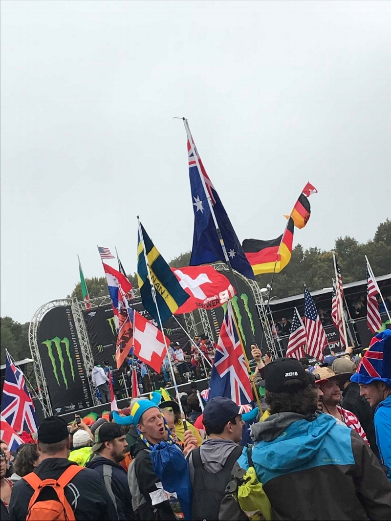 It isn't an MXDN event if there aren't hundreds of colorful flags being waved around. It seemed as though every country in the world was being represented, yet we all shared one thing in common…MOTOCROSS!