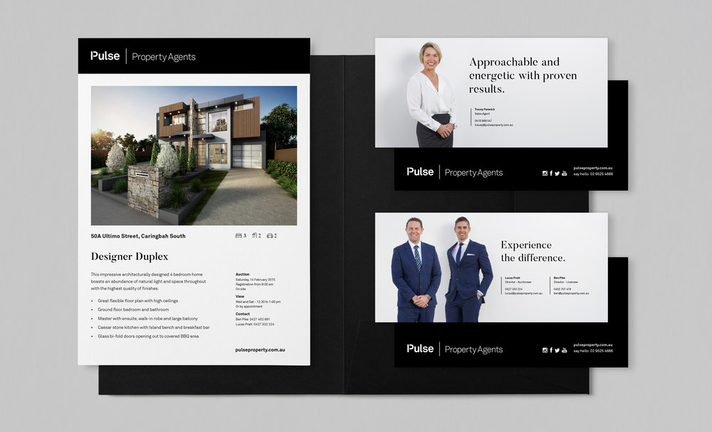 Property and agent marketing