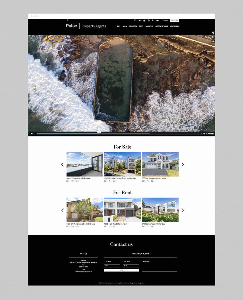 Website design direction