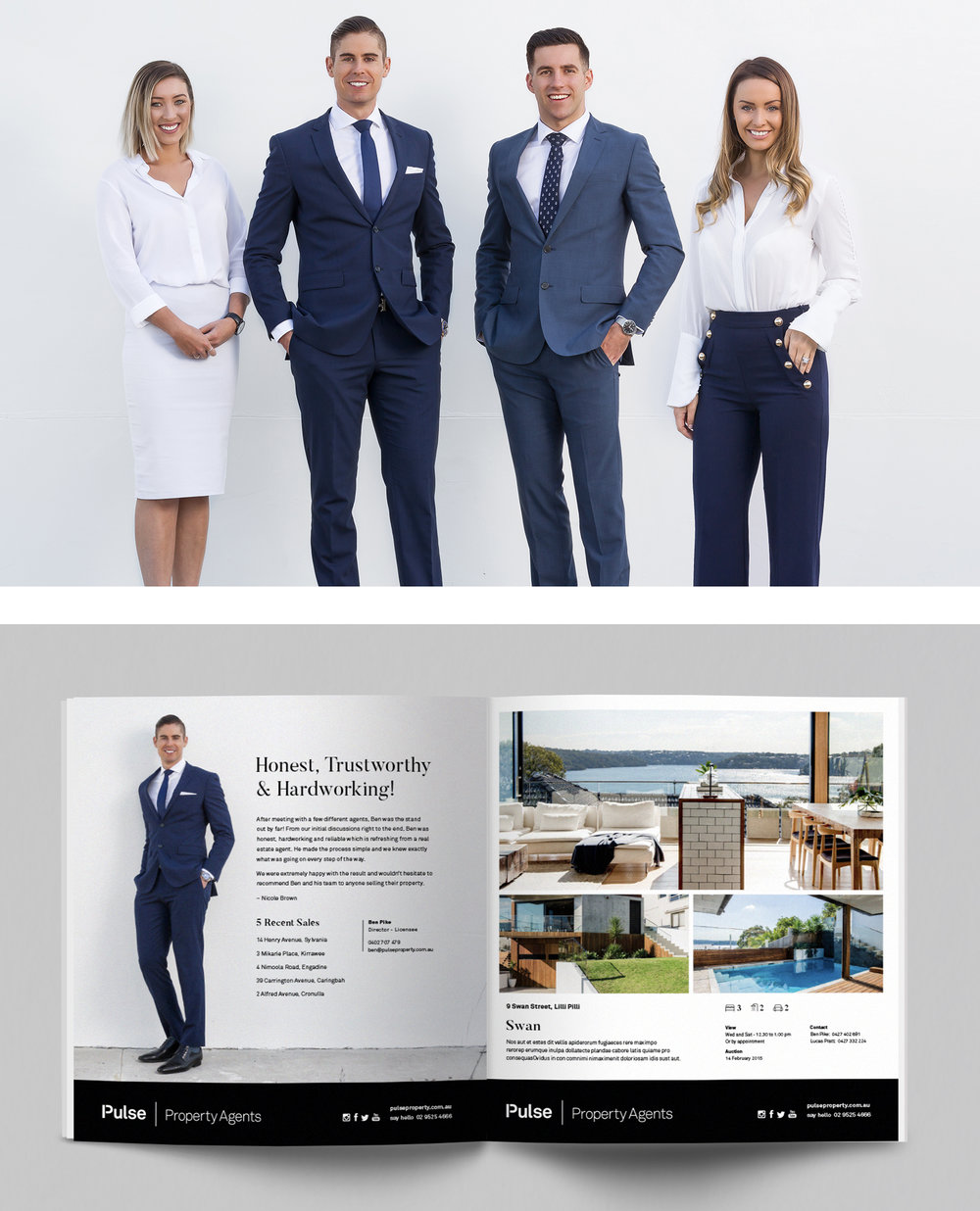 Agent and property advertisements