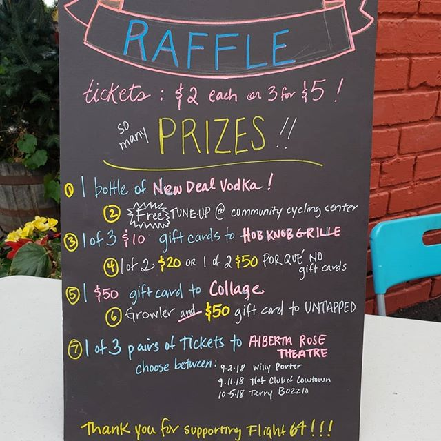 Happening now! Visit us at 30th and Alberta for Last Thursday #pdx and win all these great prizes. Enjoy art, friends, drinks from @newdealpdx and pizza from @bellapizzapdx! 6-9pm tonight!