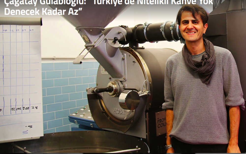 Cagatay Gulabioglu - opened the first micro roastery/specialty coffee shop in Turkey. Has AST in Barista Skills and Roasting. Also the first Q grader in turkey. 2 times Turkish Roasting Champion and 4th at World Roasting Championship. Owns Probador Colectiva now which has the only certified SCA Training Campus License.  Probador Colectiva is also a roastery and has worldwide  trainings such as Q Grader certification programs.