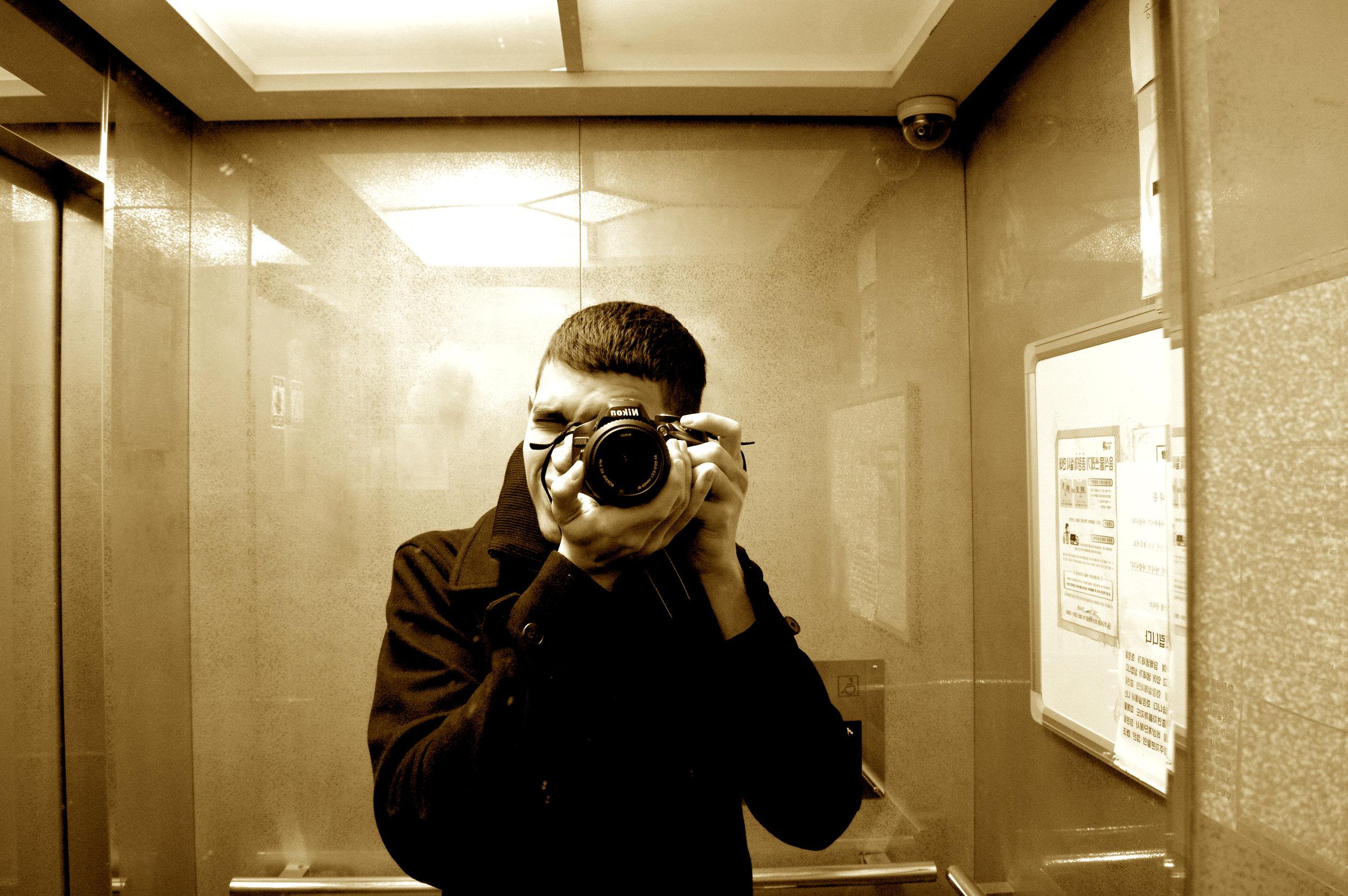Elevator Selfie.