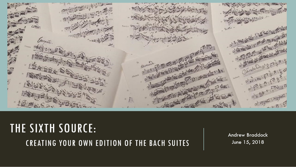 Bach Suites Presentation - Click image for Powerpoint