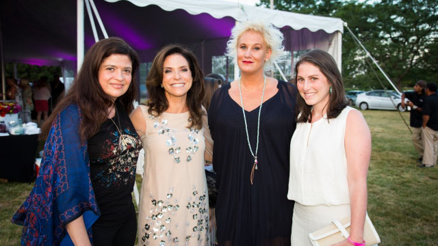 Iron Chef Alexandra Guarnaschelli of Butter and Darby Restaurant served as Celebrity Chef Chair and Anne Burrell served as the Celebrity Chef Host and MC at the 2015 Gala.