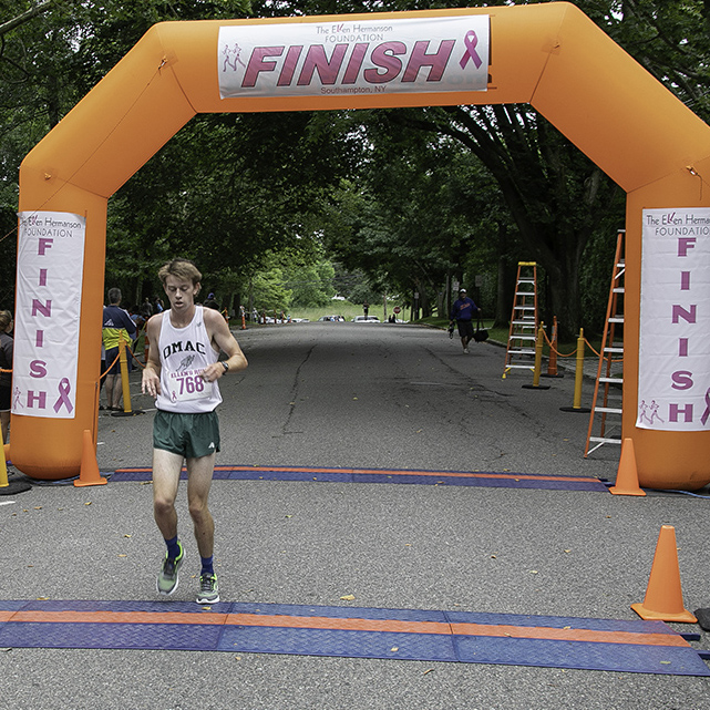 Erik Engstrom, First Place Overall, Male - 00:15:39.97