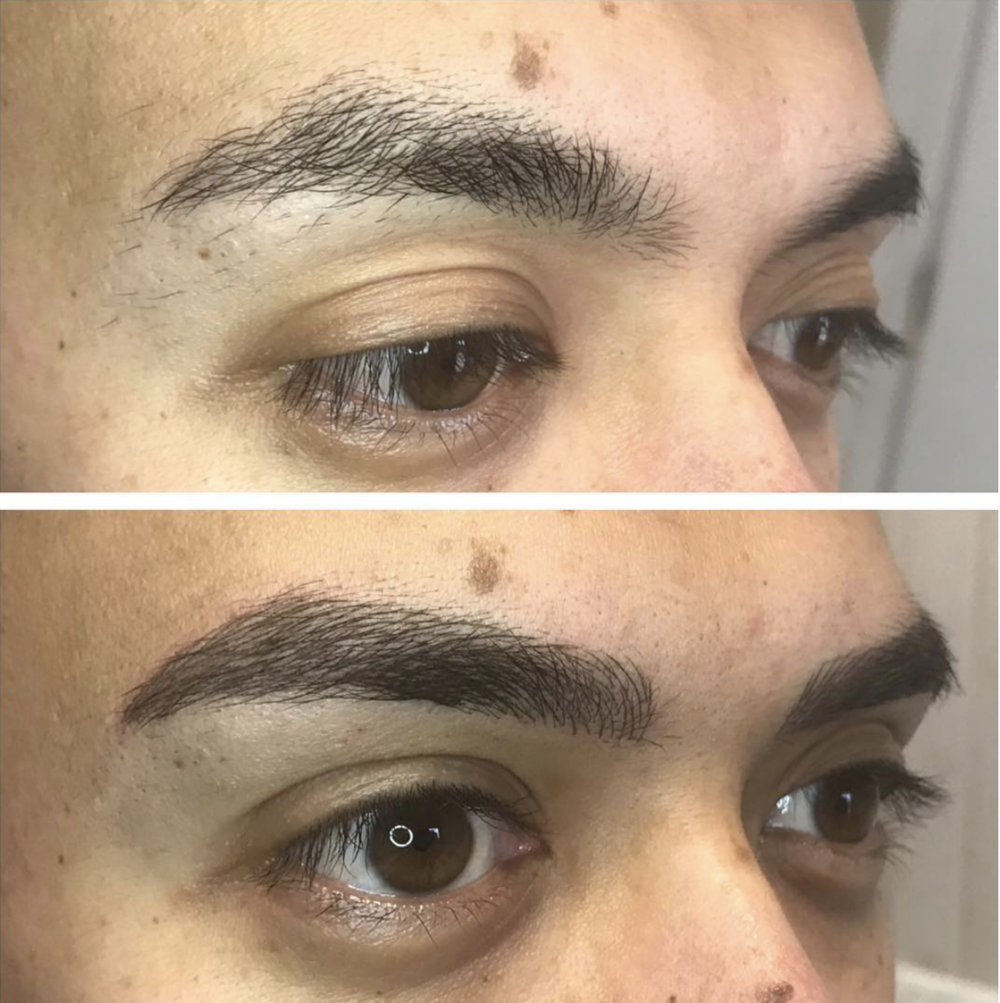 Male brows!