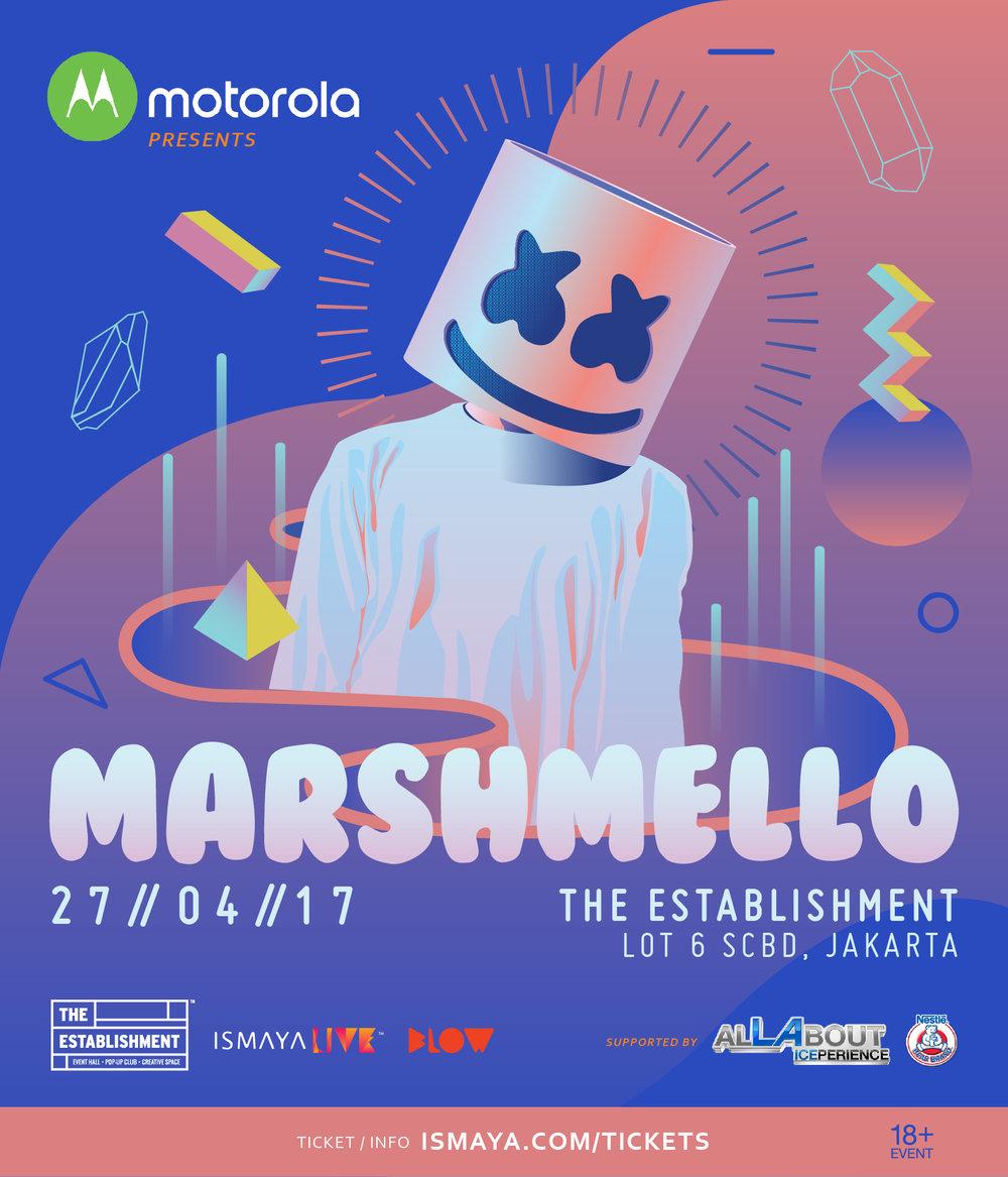 Marshmello Live in Jakarta