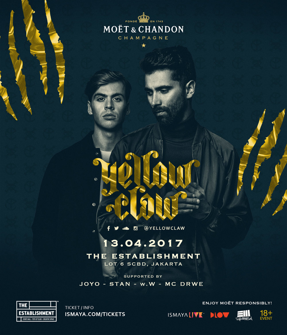 Yellow Claw Live in Jakarta