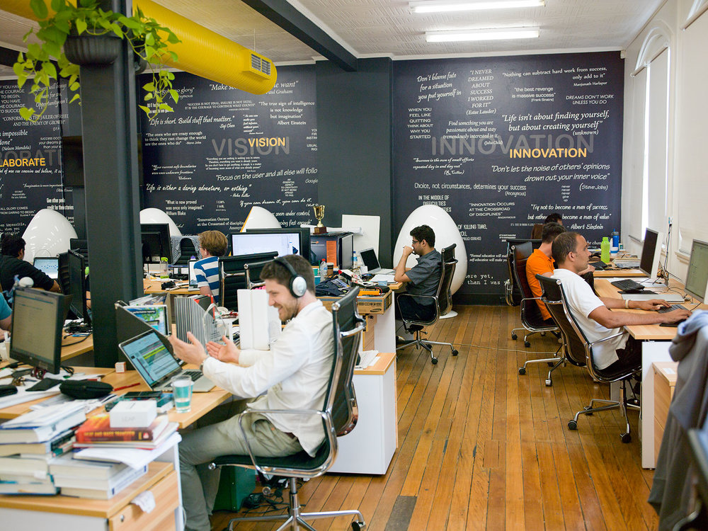 fishburners' sydney office