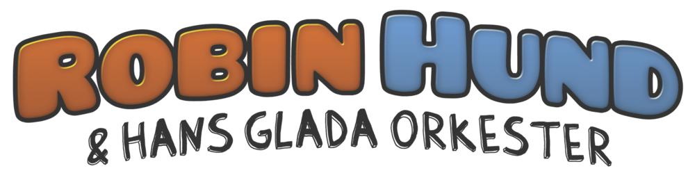 Robin Hund & Hans glada orkester logo