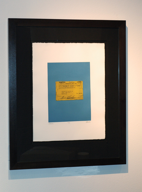 Identity, 2001 photo-polymer gravure