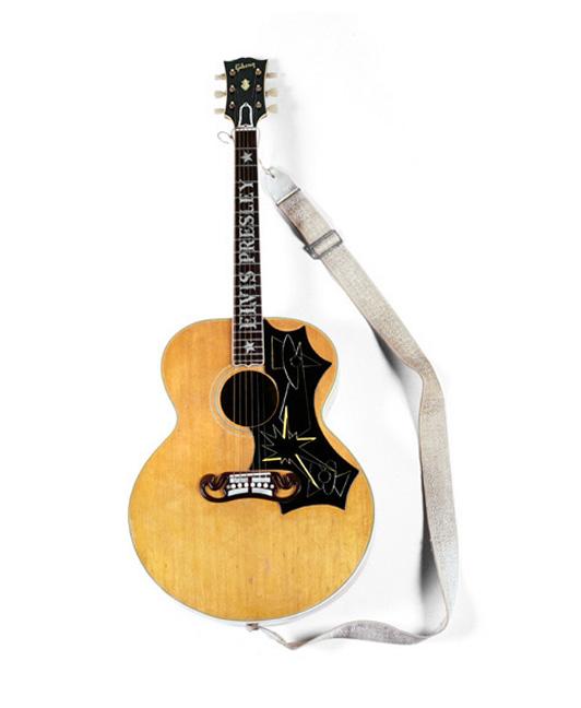 Elvis's Gibson J-200 Guitar, 2003