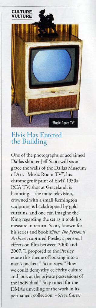 Press for Dallas Museum of Art acquisition