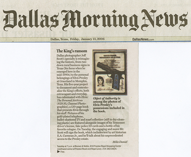 Jeff Scott Press: Dallas Morning News
