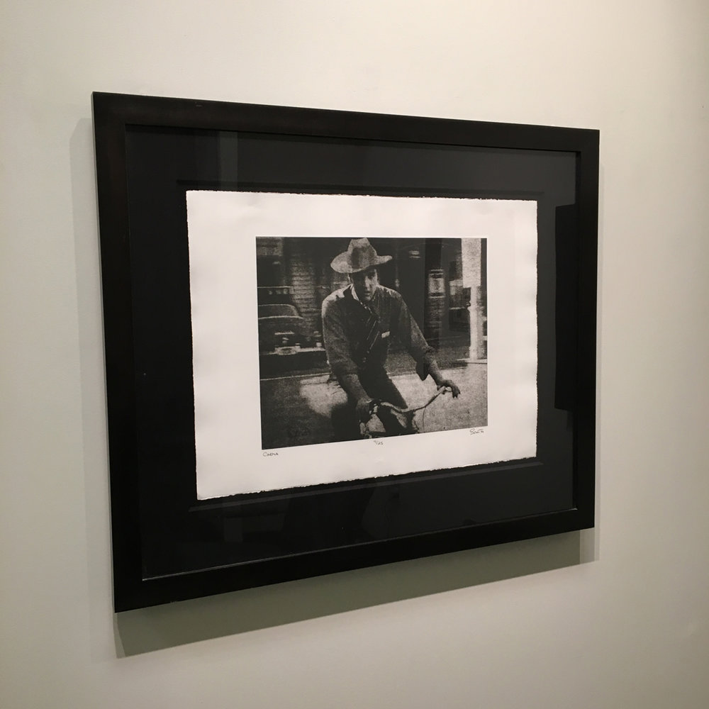 Cinema: Elvis in Hollywood photo-polymer gravure
