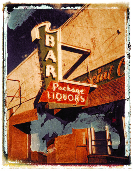 Bar, photographed in Walsenburg, Colorado