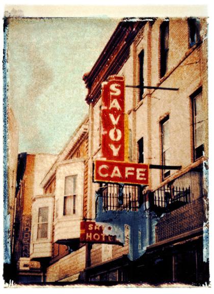 Savoy Cafe, photographed in Trinidad, Colorado