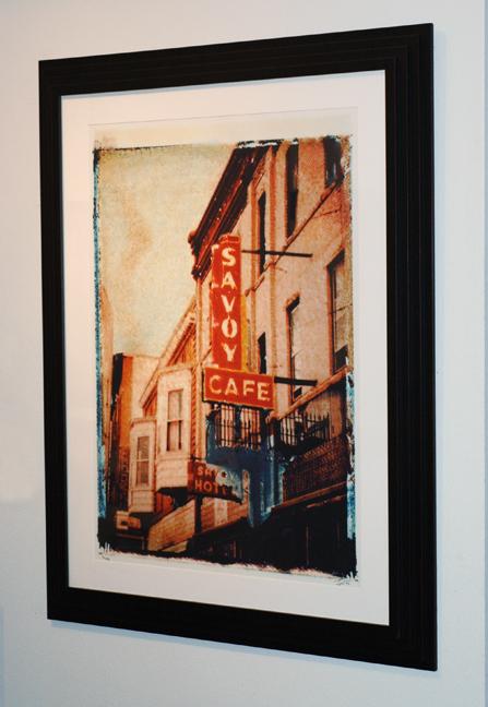 Savoy Cafe Installation, photographed in Trinidad, Colorado