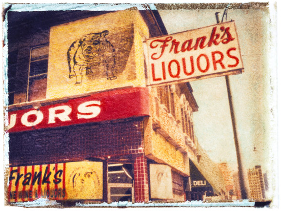 Frank's Liquor, photographed in Memphis, Tennessee