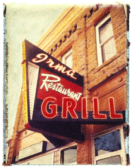 Irma Grill, photographed in Wyoming